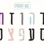 פוסטר א׳-ב׳ // print me