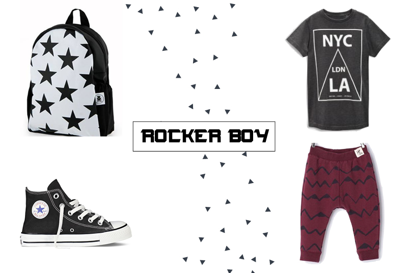 rocker boy by cool & bello